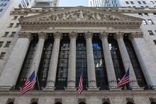Fototapete - New York Stock Exchange Building, Manhattan
