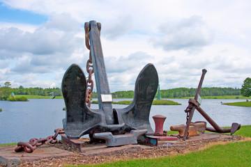 Modern Lake Boat Anchor
