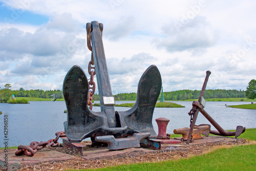 Modern Lake Boat Anchor