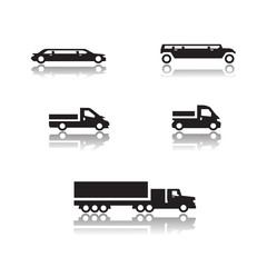 Cars icons. Vector format