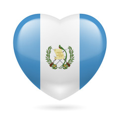Heart icon of Guatemala
