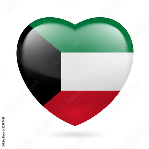 Heart icon of Kuwait