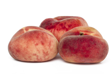 paraguayo peaches isolated