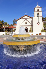 Fountain Mission San Buenaventura Ventura California