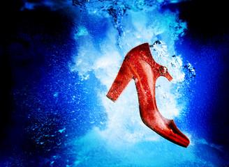 sinking shoe