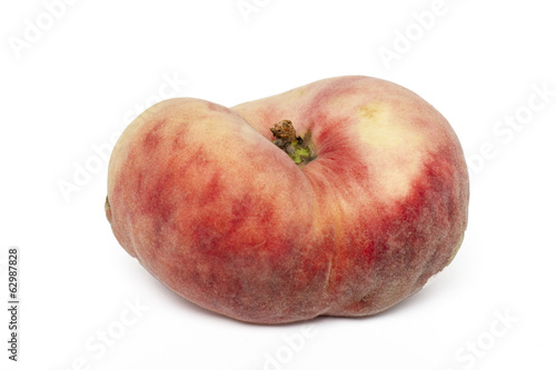 paraguayo peach isolated