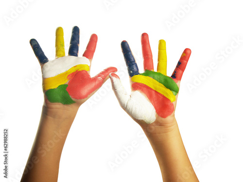 Color hands