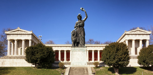 famous statue of bavaria