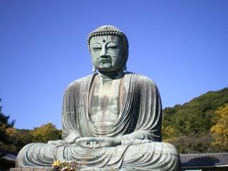 Daibutsu - der Große Buddha in Kamakura