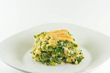 Homemade Spinach Souffle