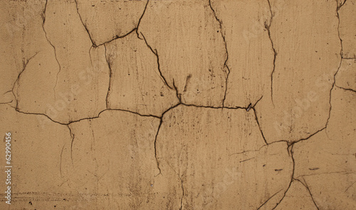 cracks on a wall