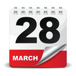 28 MARCH ICON