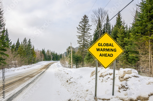 Conceptual Warning Sign against Global Warming