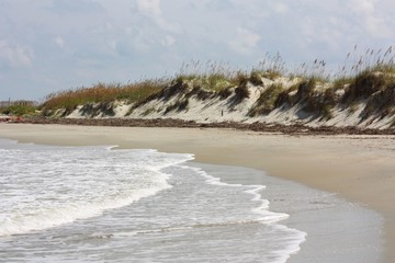 Beach with Dunes