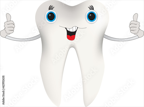Happy Tooth Character