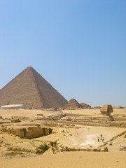 pyramide et sphynx