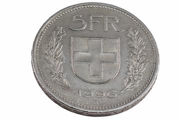 five franc