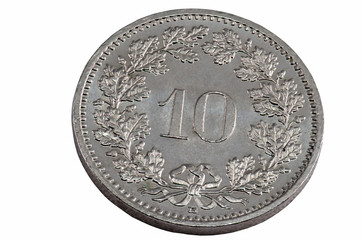 10 swiss centime