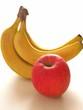 りんごとバナナ