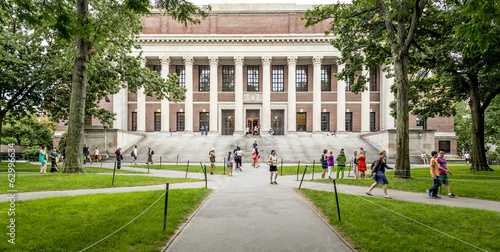 Tuinposter Historisch geb. Harvard University in Cambridge, MA, USA