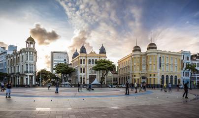 Recife Antigo in Pernambuco, Brazil