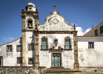 Church in Olinda, Pernambuco, Brazil