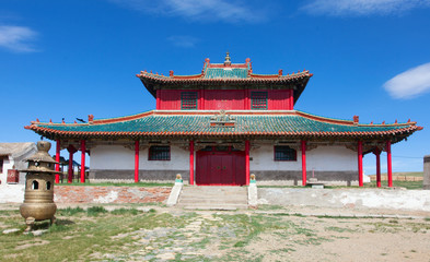 Erdene Zu  Buddhist monastery in central Mongolia