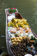fruits and food on boat