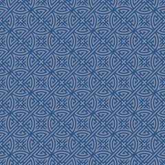 Blue Colors Geometry Pattern. Korean traditional Pattern Design