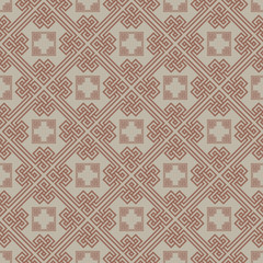 Brown Colors Plaid Pattern. Korean traditional Pattern Design Se