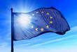 Leinwanddruck Bild - Flag of European Union