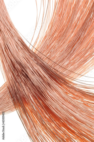 Copper wire for the power industry, background