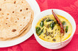 Постер, плакат: Indian Dal Fry and Chapati