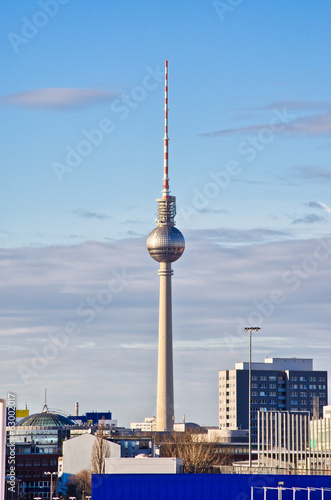 Fernsehturm tower in Berlin, Germany