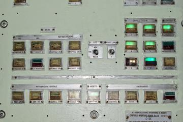 submarine control panel
