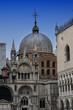 Basilica on St. Mark's square in Venice