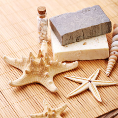 Spa with starfish