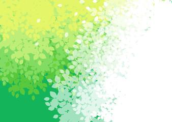 新緑グラデーション背景