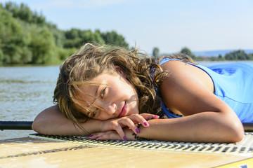entspannen auf dem Board