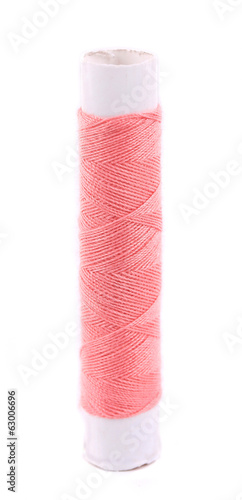 pink Sewing thread