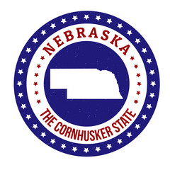 Nebraska stamp