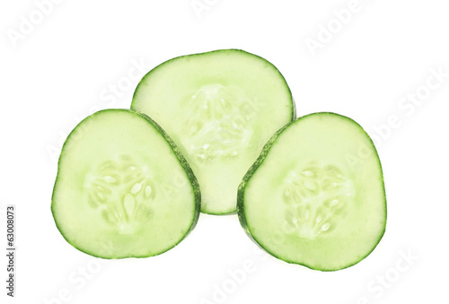 Fresh cucumber slice