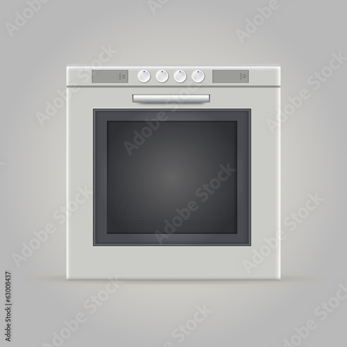Illustration of oven