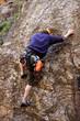Safe climber.