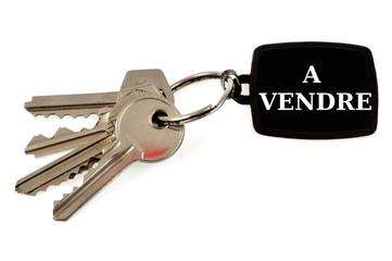 Les clés de la maison à vendre
