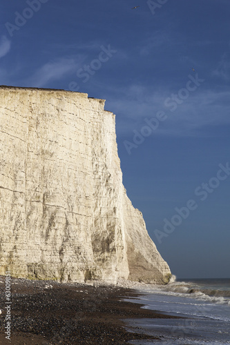 Seven Sisters cliffs, England, UK.