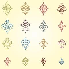 Ornate Calligraphic Elements