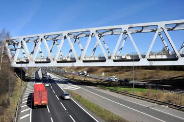 Warren Truss Type Railway Bridge