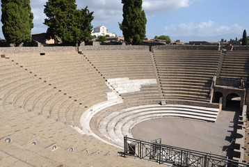 Grand Theatre in Pompeii