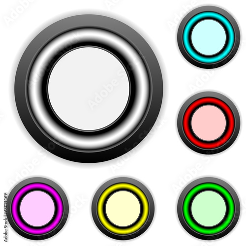 Empty buttons set